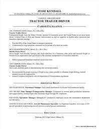 Resume For Truck Driver Owner Operator Resume Resume Examples