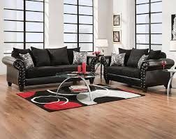 American Freight Furniture and Mattress for a Eclectic Living Room