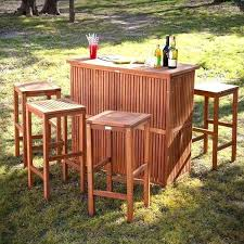 lovable favorable outdoor patio bar table sets bars tiki sweet awesome swish south pacific bamboo pac