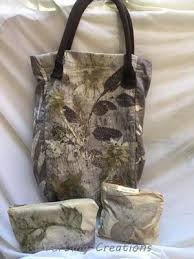 Gift set of natural printed pouches 植物印染包包禮物 | Окрашивание ...