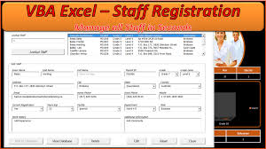 Employee Database Excel Template Staff Database Excel Awesome Userform Database Online Pc Learning