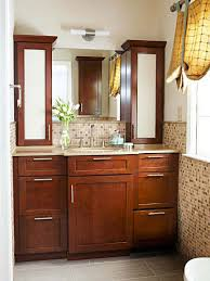kitchen cabinets in bathroom. Bathroom: Impressive Master Bath Vanity Using Kitchen Cabinet Bases Contemporary In Bathroom Cabinets From I