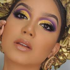 summer makeup ideas hotter than the weather purple and
