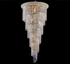 spiral collection light extralarge crystal chandelier grand