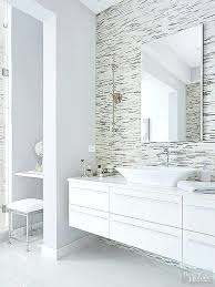 modern white bathroom vanity dramatic architecture belvedere 24 inch with ceramic countertop