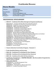 d muddle resume