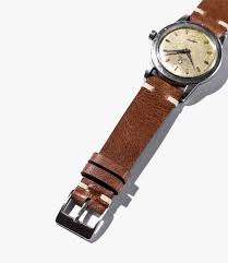 leather watch bands gear patrol crown and buckle