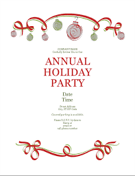 29 Elegant Microsoft Word Holiday Party Invitation Template