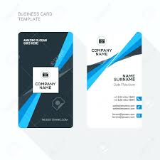 Template Double Sided Business Card Template Illustrator Cards