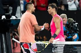 The washington dc tournament, won last year by kyrgios, was set to. Showing Rare Focus Nick Kyrgios Still Falls To Rafael Nadal The New York Times