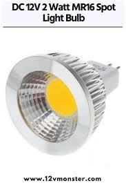 12v Recessed Led Lights Dc 12v 2 Watt Mr16 Spot Light Bulb For Track Recessed