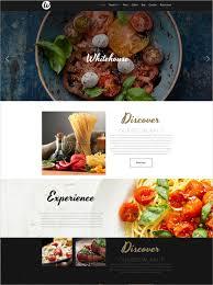 Restaurant Website Templates Inspiration 28Best Premium Restaurant Website Templates Free Premium Templates