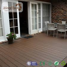 hot eco friendly wood plastic decking waterproof wpc outdoor