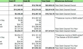 Rapid Debt Repayment Plan Large Size Of Debt Reduction Spreadsheet As Well Payoff Snowball