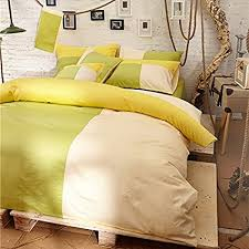 lime green bedding queen find