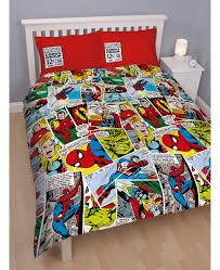 Novelty Bedding | Marvel Comics Justice Double Duvet Cover Set at ... & Marvel Comics Justice Double Duvet Cover Adamdwight.com