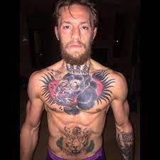 Conor McGregor Chest Tattoo is BADASS ...