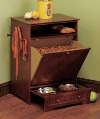pet food storage ideas. Wood Dog Food Holder For Badger The Bag Out Of Pet Storage And Ideas