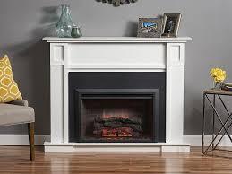 heritage cabinet white 32 firebox