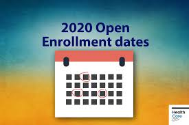 Healthcare Gov Income Chart Mark Important 2020 Open Enrollment Dates On Your Calendar