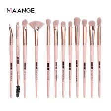 <b>MAANGE 5/12 pcs</b>/lot Makeup Brushes Set Eye Shadow Blending ...