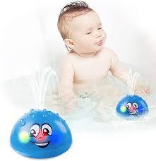 Spray Water Toy with LED Light <b>Bathtub Toys</b> LETBEFUNA <b>Baby</b> ...