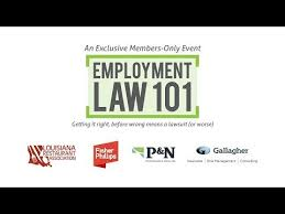 Fisher Phillips Llp Lra Employment Law 101 Youtube