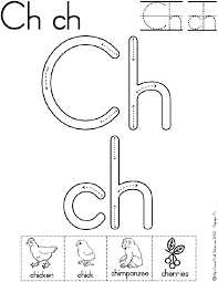 digraph ch worksheet   Preschool   Pinterest   Worksheets, Phonics ...
