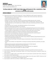 Construction Planning Engineer Resume Sample Best Of 24arun Das Mep Resume