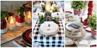 christmas decoration ideas for table