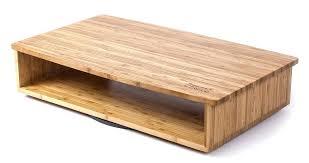 tv riser shelf rotating bamboo flat screen stand with home entertainment shelf rotates s degrees tv riser shelf