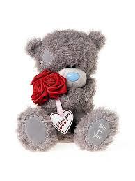 Мишка Тедди с розами Me to you 2564321 в интернет-магазине ...