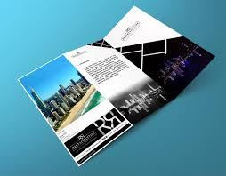 Modern Brochure Design Elegant Modern Brochure Design For Rent Revolution By Iko Design 9