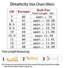 Dm Size Chart Dreamcity Mens Water Shoes Athletic Sport Lightweight