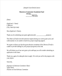 thank you letter after application rejection thank you letter 9 free word pdf format download