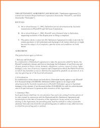 Sample Settlement Agreement 24 settlement agreement Marital Settlements Information 1