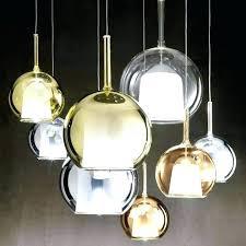 large glass globe pendant light pendants desert