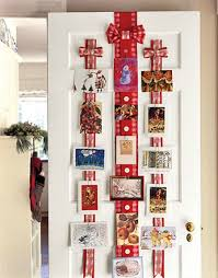 Christmas Card Display Stand Ribbon Christmas Card Display Holder Ideas For Serenity Assisted 14