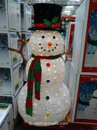 ed outdoor lighted snowman decorations frosty the decoration