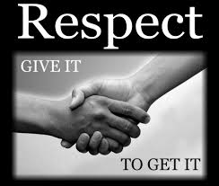 Image result for Images of respect