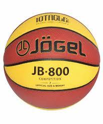 <b>Мяч</b> баскетбольный <b>Jogel JB</b>-<b>800</b>, <b>JB</b>-<b>800</b>, желтый цвет, <b>7</b> размер ...