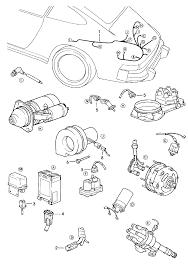 Porsche 911 1978 1983 engine wiring harnesses > porsche