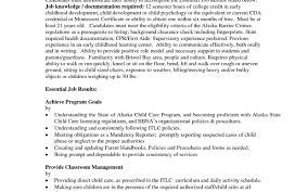 Download Now Child Care Director Resume Cover Letter Www