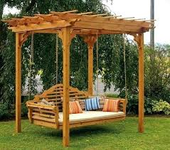 backyard swing bench outdoor swing bench swing bench