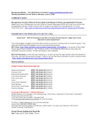 resume server description