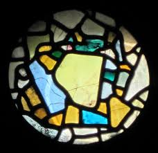 the oldest stained glass window in the