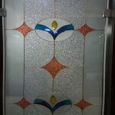 swing multicolor fancy glass door rs