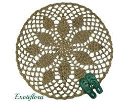 round crochet jute rug natural fiber mat rustic decor soft thick area rugs circular jute rug gorgeous natural