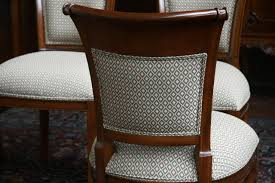 image of diy cloth dining room chairs