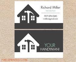Interior Designer Business Cards Amazing Handyman Business Card Ideas Berkebunasik